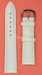Белый ремешок для наручных часов 8-83PTS.4P-WH18 размер 18 мм