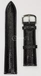 Черный ремешок для наручных часов 8-84PTS.4P-NR20 размер 20 мм