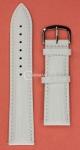 Белый ремешок для наручных часов 8-84PTS.4P-WH22 размер 22 мм