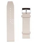 Кремовый ремешок для наручных часов A-1193BBK.12-CR18 размер 18 мм