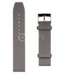 Серый ремешок для наручных часов A-1193BBK.12-LGY20 размер 20 мм