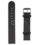 Черный ремешок для наручных часов A-1940S.8-BK22 размер 22 мм