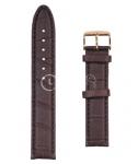Тёмный Ремешок для наручных часов  A-6050PLS.8-MR18