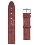 Красный Ремешок для наручных часов  A-6050PLS.8-TN20