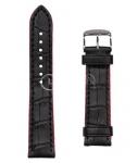 Чёрный Ремешок для наручных часов  B-325APS.8-BK-FL24