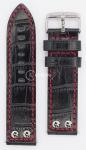 Чёрный Ремешок для наручных часов  C-312AHS.SW-NR22