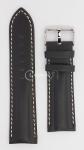 Чёрный Ремешок для наручных часов  HB66-BK24
