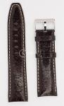 Тёмно-коричневый Ремешок для наручных часов RSV-DBR24